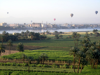 Nile River and Luxor view