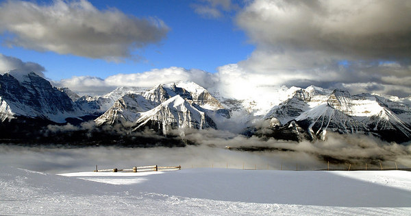 View from Lake Louise Ski Area