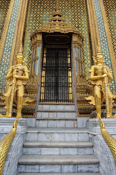 Mystical creatures, Grand Palace,  Bangkok, Thailand