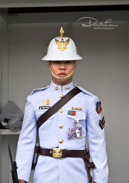 The Grand Palace guard