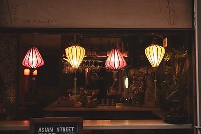 Street restaurants