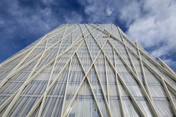 Diagonal Zero Zero building, Barcelona