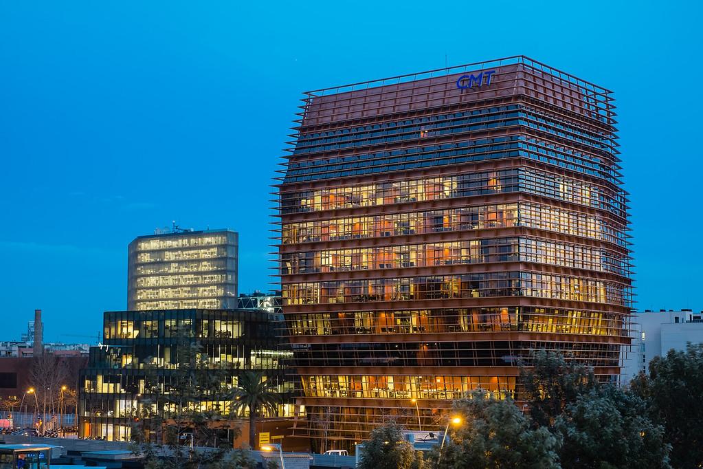 CMT building Barcelona