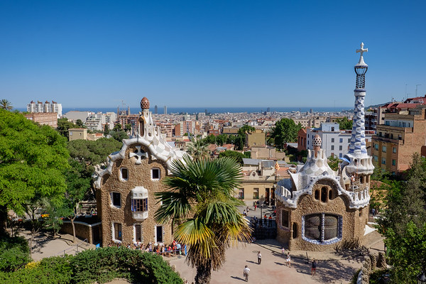 View on Barcelona from Park Güell