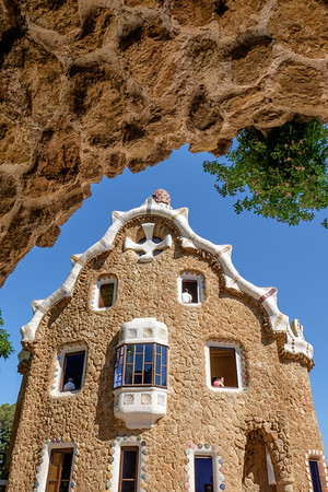House at Park Güell, Barcelona
