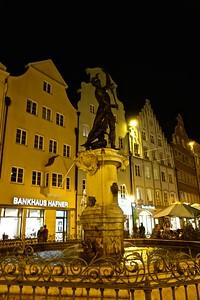 Murcury Fountain in Augsburg