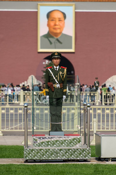 Guard at Forbidden City, Beijing