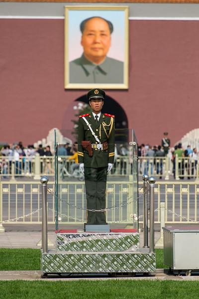 Guard at Forbidden City, Beijing