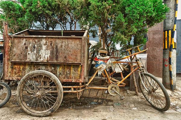 Trike in Beijing Hutong