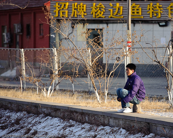 Staring at the ice, Wukesong - Beijing