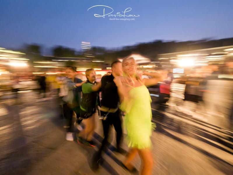 Dancing at Gubei Town