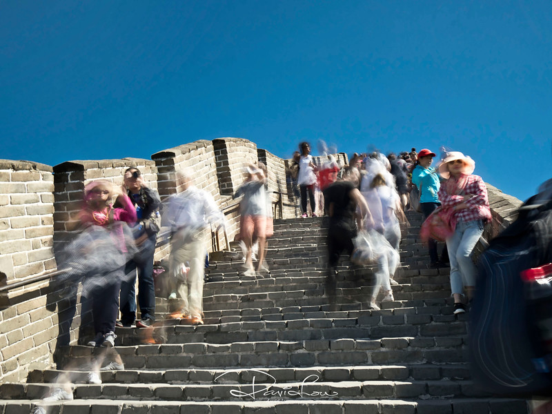 Badaling  Great Wall - one of the most popular for visitors.