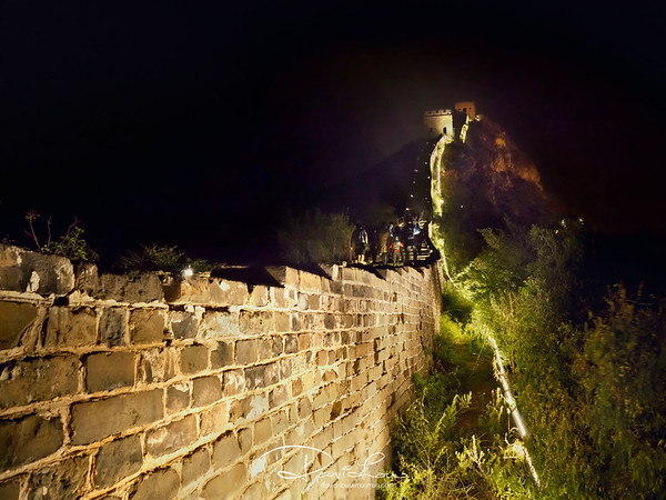 Simatai Great Wall, the only wall that opens in the night.