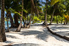 A view down the beach line at Southwater Cay