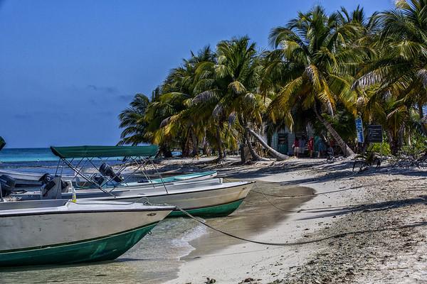 Belize; Laughingbird Caye National Park