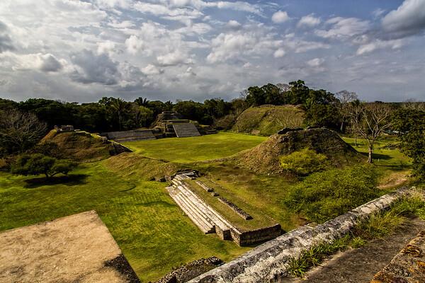 Altun HA Mayan Ruins; Belize