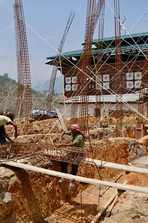 construction in Sopsokha