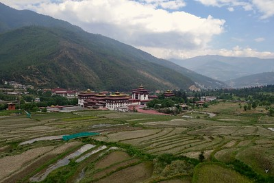 Dzong (fortress) in Thimphu