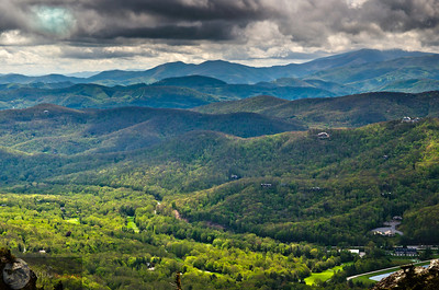 Blueridge North Carolina USA