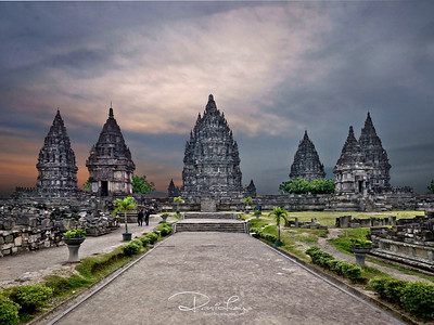Prambanan Hindu Temple (listed under UNESCO)
