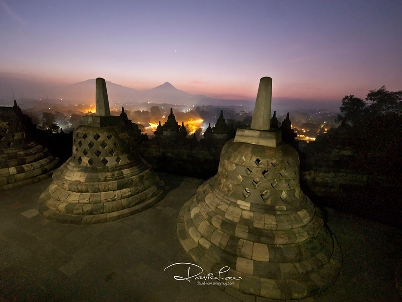 Borobudur temple, 5.03am