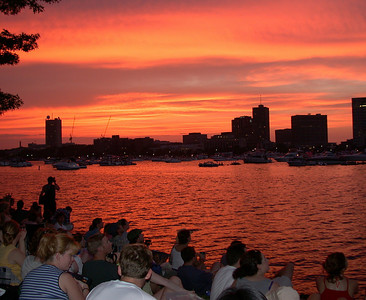 July 4th on the Charles River