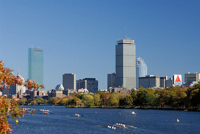 Boston Skyline - Head of the Charles