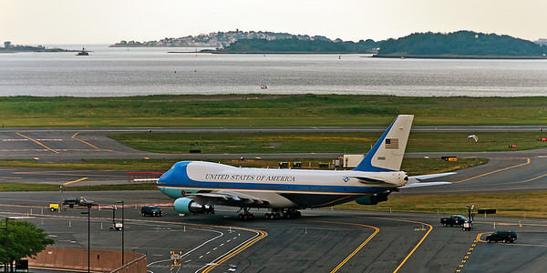 POTUS happened to be in the New England area this week, thank goodness I didn't have to land or take off from Logan airport on any of those days. July 2012