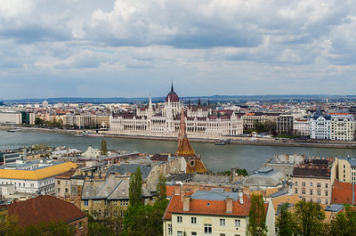Budapest View from Above