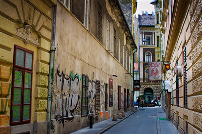 Colorful Streets of Budapest