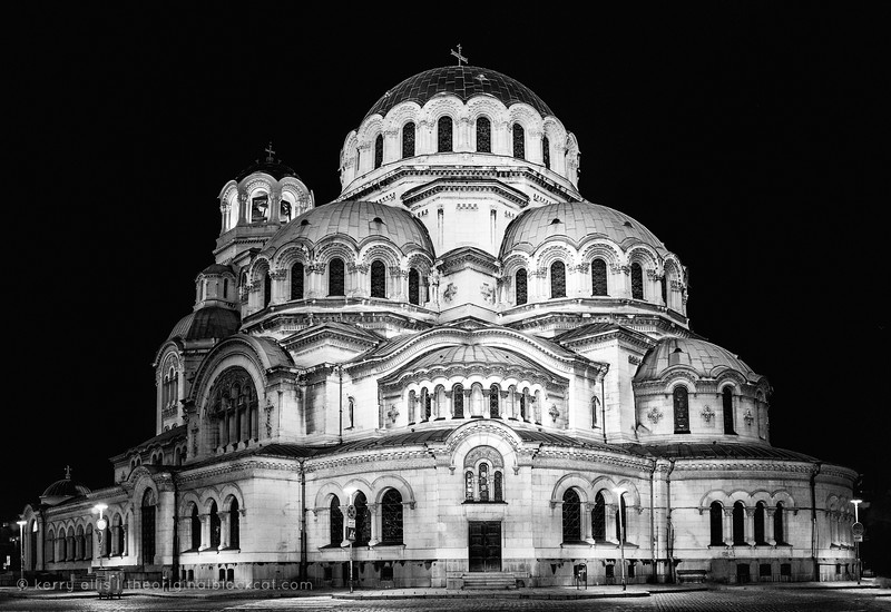 Nevsky Cathedral in Sofia.