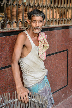 Calcutta worker