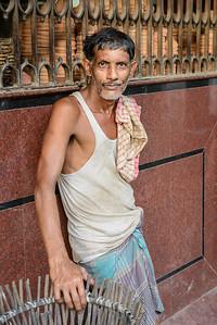 Calcutta worker