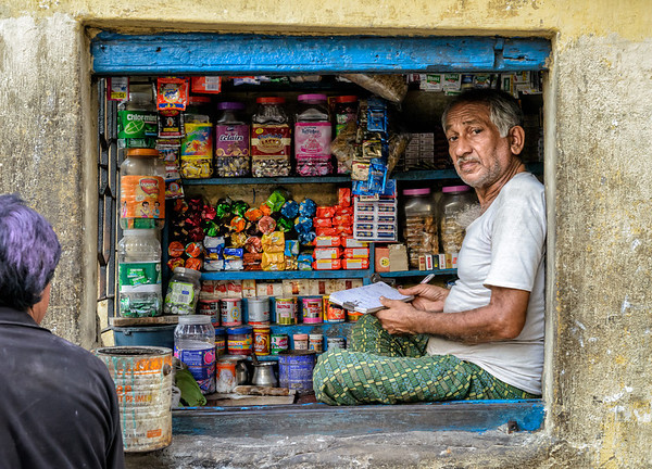 Cornershop seller