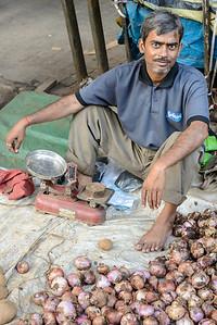 Onion seller