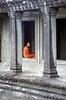 monk Angkor Wat, Cambodia
