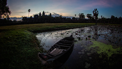 Before the Sunrise at Angkor Wat