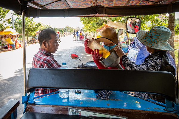 Topping up the Tuk Tuk