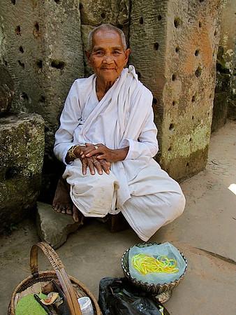 a giver of blessings at Angkor