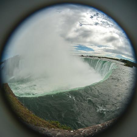 Fisheye Falls