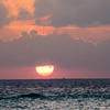 Isla Mujeres - Sunset Grill! - What a Sunser!!!!!
