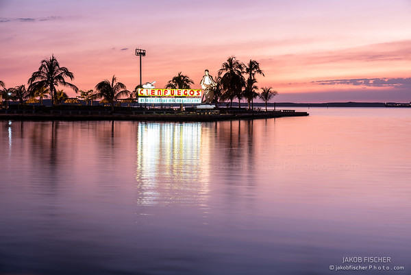 Cienfuegos at sunset