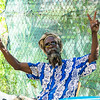 creole rastafarian in Guadeloupe