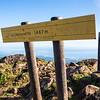 summit of volcano La Soufriere (1467m)
