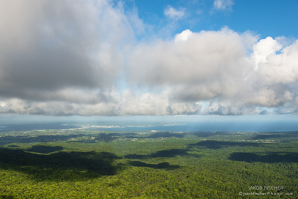 lookout from col des mamelles, Guadeloupe