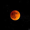Super blood moon, total eclipse