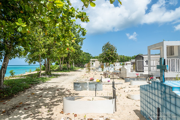 cemetery on the beachfront