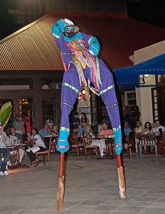 Moko Jumbi stilts walker ST. Croix