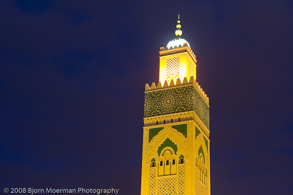 Hassan II Mosque Casablanca, 2nd largest in the world