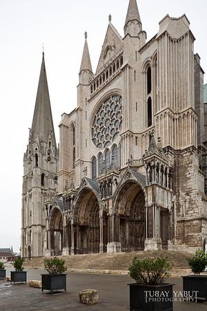 Cathédrale Notre-Dame de Chartres (SE facade)